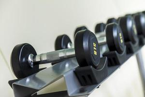 Dumbbell in Home Gym photo