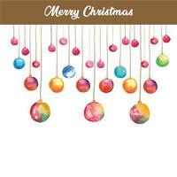 Christmas ball, Christmas decoration vector
