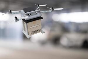 dispositivo de ingeniería de tecnología de drones para la industria que vuela de industrial a logística exportación producto de importación servicio de entrega a domicilio logística envío transporte transporte o sala de exposición de autopartes foto