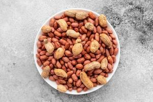 Peanut close up. It can be used as a background photo