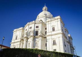Panteao nacional panteón histórico iglesia catedral vieja en Lisboa Portugal foto