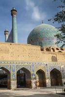 persian islamic architecture detail of imam mosque in esfahan isfahan iran photo