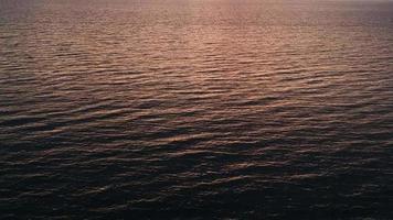 Sunset under the sea video