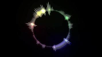 sound bar animation bakgrund video