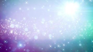sfondo di particelle azzurro chiaro video