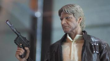 Bangkok, Thailand, Apr 30, 2018 - Star Wars figure. wax Han Solo photo