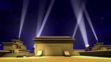 Hollywood lights background video