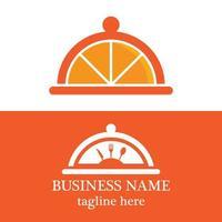 Food logo template vector icon design