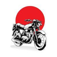Motor Classic Illustration vector