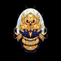 Owl Warrior Illustration vector