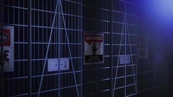 zombie fängelse bakgrund video