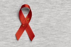 World aids day concept assortment with ribbon symbol photo