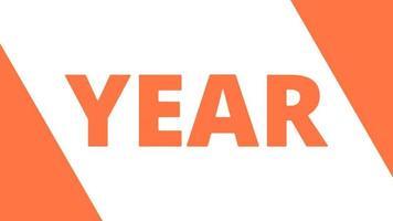 gelukkig nieuwjaar 2022 gouden achtergrond met gekleurde lijnen en gelukkig nieuwjaar in de stijl van het midden - gratis voor commercieel gebruik video