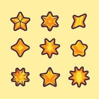 Star Icons Set vector