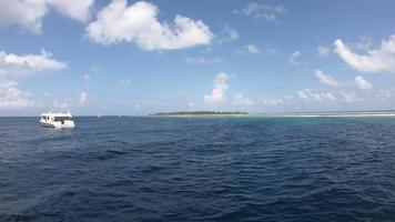 muoversi nell'oceano alle maldive video