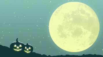 mysteriöse halloween mondnacht video