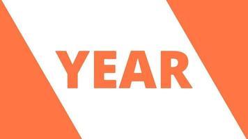 gelukkig nieuwjaar 2023 gouden achtergrond met gekleurde lijnen en gelukkig nieuwjaar in de stijl van het midden - gratis voor commercieel gebruik video