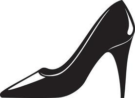 High Heels Women Shoe vector