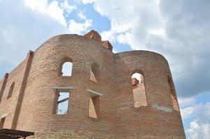 construcción de una iglesia ortodoxa foto