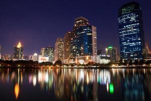 Night light in Bangkok photo