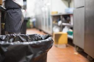 basura con cocina foto