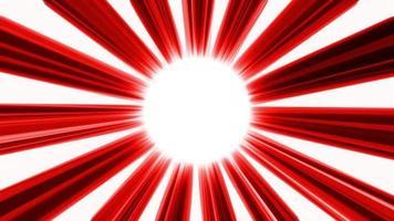 röd cirkel bakgrund loop animation video