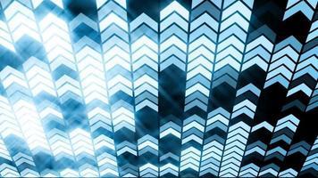 ha condotto l'animazione del ciclo di sfondo della freccia di luce blu video