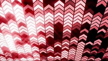 ha condotto l'animazione del ciclo di sfondo della freccia a luci rosse video