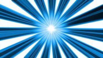 animation de boucle de fond de ligne bleue video
