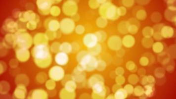 bokeh oro particella sfondo loop animazione video