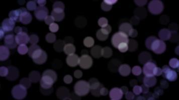 bokeh viola particella sfondo animazione loop video