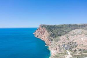 Seascape with a view cape Balaklavsky , Crimea photo