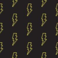 Abstract Seamless Pattern Background with bolt. Vector Illustration