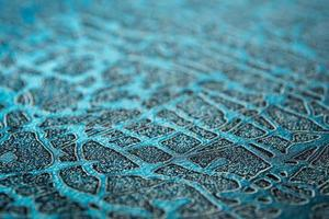 Shiny surface and pattern on foil paper texture for background photo