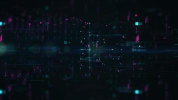 fondo astratto di affari di tecnologia digitale video