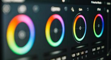 Color Correction Post Production for video photo