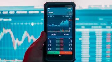 Smartphone Crypto Exchange photo
