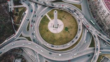 antena de tráfico de carretera foto