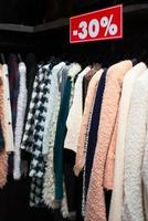 Clearance sale in discount with a selection of fashion for women photo