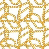 Abstract Chain Seamless Pattern Background. Vector Illustration