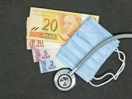 Investment in health care with brazilian money photo