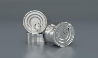 Metal Food Tin Pack photo