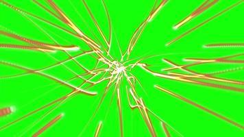 deeltjesspoor groen scherm achtergrondanimatie video