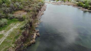 sjö Flygfoto video