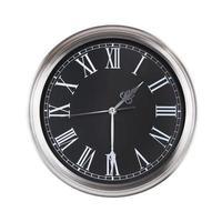 el reloj muestra la mitad del segundo foto