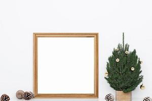 maqueta de marco de navidad-1 foto