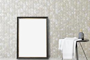 maqueta de marco de baño - 304 foto