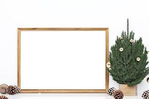 maqueta de marco navidad - 305 foto