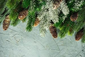 concepto de tarjeta de navidad foto