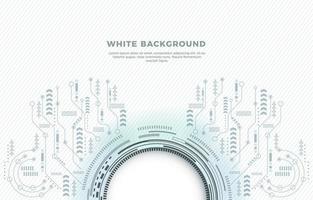 Techno Futuristic Background vector
